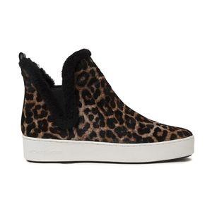 MICHAEL KORS Ashlyn Leopard-print Sneakers